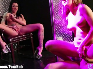 OpenLife STRIPPERS WITH BIG BOOBS! THREESOME! BABES!