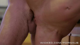 Avluv veronica gets stepson fucked by her milf facefuck