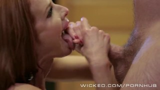 Veronica Avluv gets fucked by her stepson Cock celeb