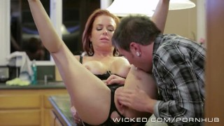 Veronica Avluv gets fucked by her stepson Riding milf