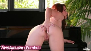 Twistys sexy redhead compilation masturbate tits