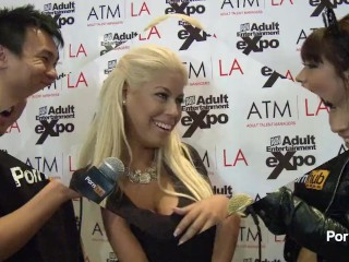 PornhubTV Bridgette B Interview at 2014 AVN Awards