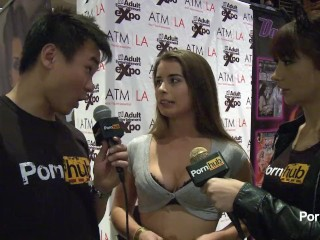 PornhubTV Bunny Freedom Interview at 2014 AVN Awards