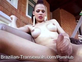 Transsexual Brazilian Bombshell Bruna Castro
