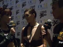 PornhubTV Holly Michaels Interview at 2014 AVN Awards