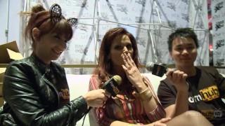 PornhubTV Syren De Mer Interview at 2014 AVN Awards Tits doggystyle