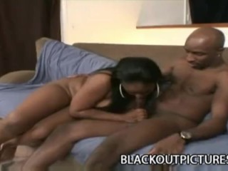 Shai: BBW Black Bitch On Scary Black Cock