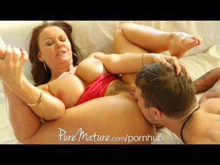 Index Of Naked Clips Tilly PureMature Redhead MILF loves to get titty fucked
