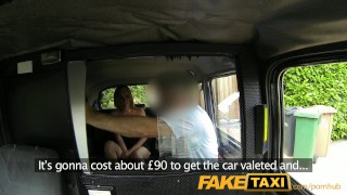 FakeTaxi Spycamed customer must go all the way