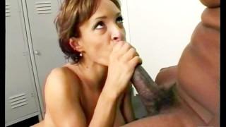 Ebony upskirt in public