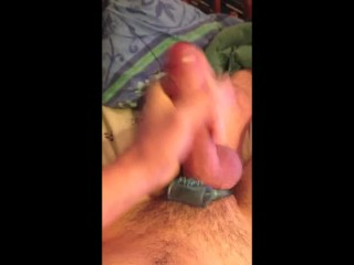 Cedeh Busts 02: A hands free cock ring jizzing
