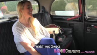 LoveCreampie Stunning busty blonde lets taxi driver cum inside for cash
