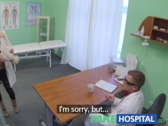 Fake Hospital Doctor denies antidepressants and prescribes a good licking