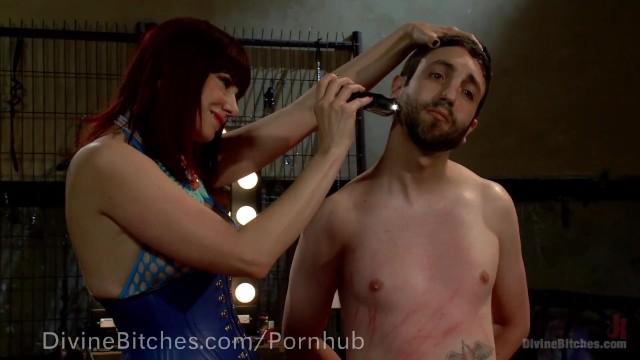 Madeline stowe bikini - Pussyboy trained to suck cock