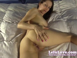 Lelu Love-POV Cheating Impregnation Creampie