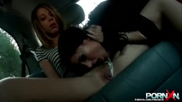 PornXN Two big tits whores fist fucked by James Deen