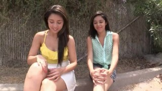 Two Latina Teens Visit Gloryhole Tits tits