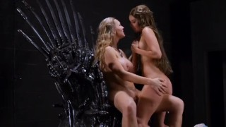 Game of bones licking blonde