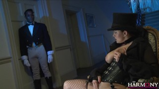 HarmonyVision Liza del Sierra demands the big black cock Riding dirtydatinglive.com