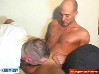 Sucking a straight guy !