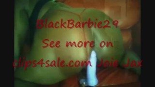 Phat Dripping Wet Black Pussy Swallowing Dildo & Squirting Part 2 Blowjob milf