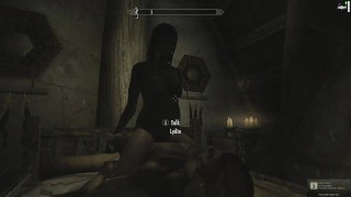 With skyrim lydia sex perky pounding