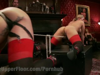 Hot MILF Sex Slaves Serve The House