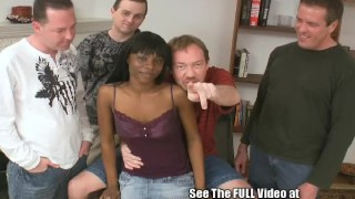 Cocoa Slut Takes On White Cock!
