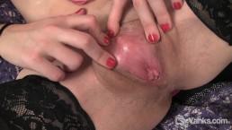 Lovely Girl Tundra Masturbating Her Wet Pussy