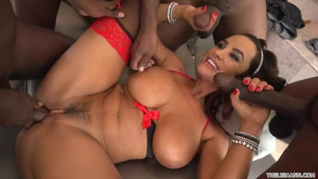 Lisa sparks interracial - Lisa ann interracial gangbang
