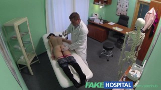 FakeHospital Doctors talented digits make MILF squirt uncontrollably
