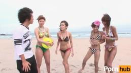 Beach Volley f09 Kaoru Shiofuki hime - Scene 1