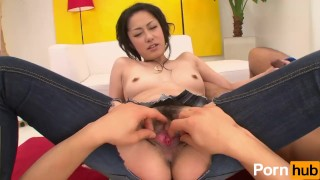Bi Jeans Vol 20 - Scene 2  hairy pussy jeans creampie reverse cowgirl oral blowjob toys vibrators japanese 3some mmf threesome pussy licking natural tits eating out