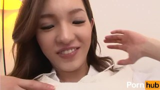 Haruka bokuno ga kanojyo mei scene  dattara brunette doggystyle