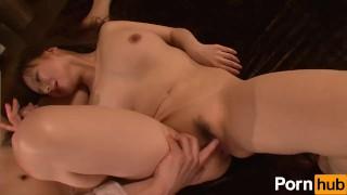 Gokudouno Bizuma Dai ichi wa Otto tono Hageshii Ai monogatari Zenpen - Scen Ass orgasm