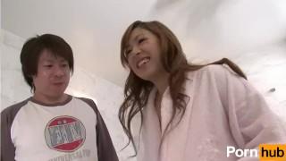 Ikinari Bukkake tai Vol 4 - Scene 1 Brunette party
