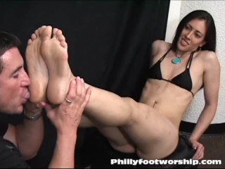 foot worship philly