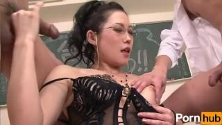 No scene iwai goukaku kyoushi  nekketsu brunette creampie