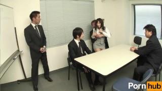 Shinnyu shain no Oshigoto Vol 11 - Scene 1 Doggy milf