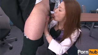 Shinnyuushain oshigoto scene no vol  sucking cumshot