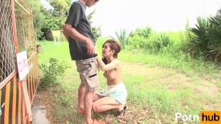 Yoru no Camp Chitai - Scene 1 porno