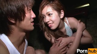 Preview 1 of Yoru no Camp Chitai - Scene 2