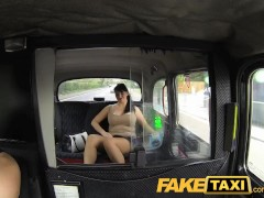 FakeTaxi Horny cougar takes it in every hole