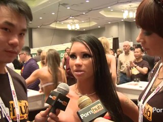 Preview 6 of PornhubTV Rachel Starr in Bed with Coco and Kong! 2014 AVN