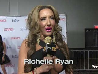 PornhubTV – Do You Masturbate? Red Carpet AVN Awards 2014
