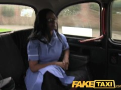 FakeTaxi Sexy nurse wearing no knickers wants cock