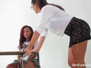 Behind the Scenes with Alison Tyler & Skin Diamond