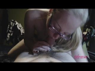 POV: Delirious Chokes on Cum, Then Screams for Double Penetration