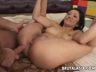 Super hot babe Kaiya Lynn banged real hard