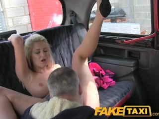 Free Amateur Pussy Movies FakeTaxi Hot blonde knows all the right moves